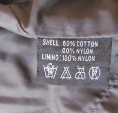 запрещающие значки химчистки на одежде