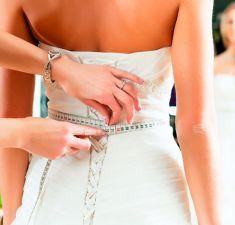 Химчистка свадебного платья
