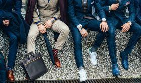 Чистка мужской одежды
