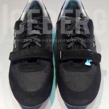 Замшевые кроссовки после покраски в химчистке ICEBERG