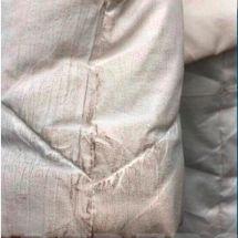 Химчистка белого пуховика