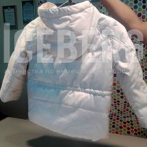 Детский пуховик до чистки в химчистке ICEBERG