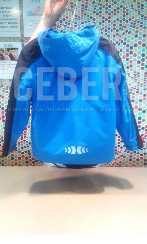 Детская куртка после чистки в химчистке ICEBERG