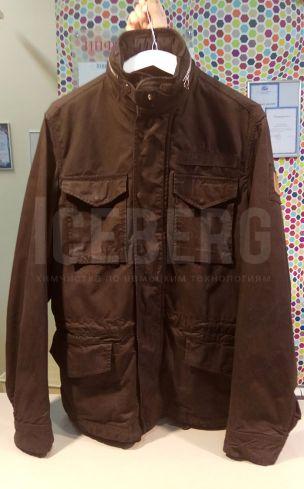 Куртка после покраски в химчистке ICEBERG