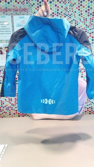 Детская куртка до чистки в химчистке ICEBERG