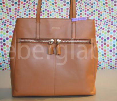 Кожаная сумка после покраски в химчистке ICEBERG