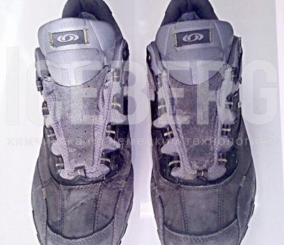 Ботинки до чистки в химчистке ICEBERG