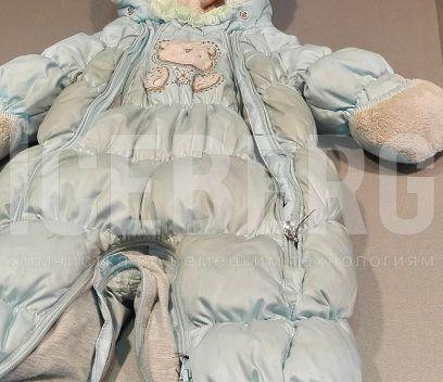 Детский комбинезон до чистки в химчистке ICEBERG