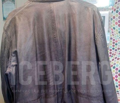 Куртка до чистки в химчистке ICEBERG